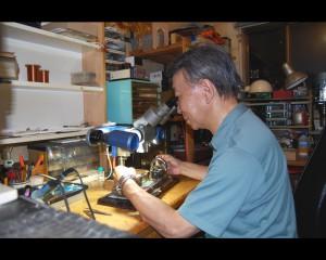 Mr.Nakatsuka Photo(Microscope)