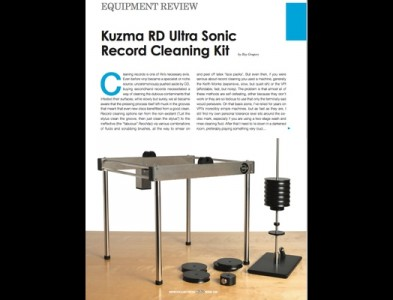REVIEW DE LA MAQUINA DE ULTRASONIDOS DE KUZMA EN HI-FI PLUS