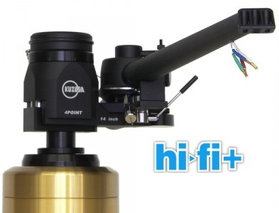 Kuzma 4Point 14″ mejor brazo absoluto por HiFi+