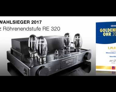 Octave RE320 premio Golden Ear nº1 – 2017.