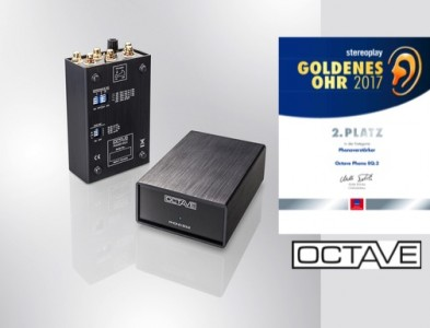 Octave Phono EQ2 premio Golden Ear nº2 – 2017