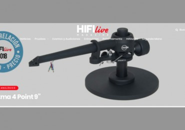 Review del nuevo Kuzma 4Point 9″ en HiFi Live