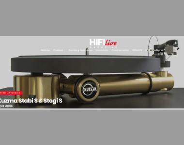Review nuevo Kuzma Stabi S en HiFi Live