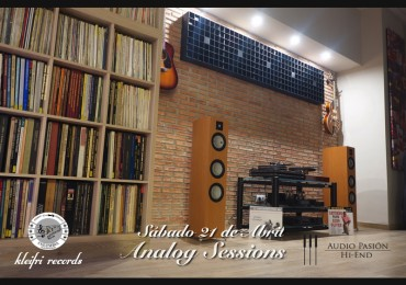 Analog Sessions, 21 de Abril.