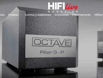 Review del Octave Filter 3P en HIFI LIVE