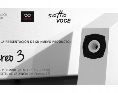 PRESENTACION SOTTO VOCE AUDIO CON WEISS EN VALENCIA