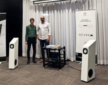 Reportaje de la presentación Sotto Voce Audio con Weiss Audio