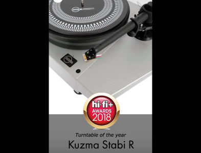 Nuevo Kuzma Stabi R, plato del año 2018