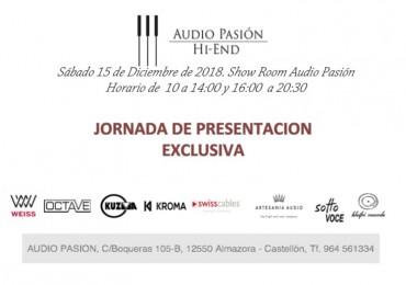 EVENTO FIN DE AÑO EN AUDIO PASIÓN, 15 DIC.