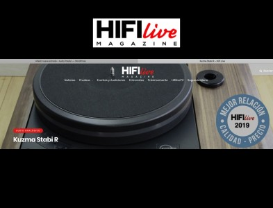 REVIEW NUEVO KUZMA STABI R WOOD EN HIFI LIVE.