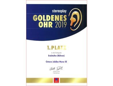 Premios Golden Ear de la revista Stereo para Octave