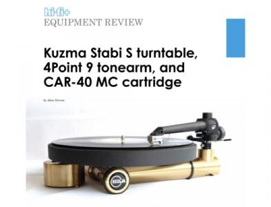 REVIEW KUZMA STABI S+4POINT+CAR40 HIFI+