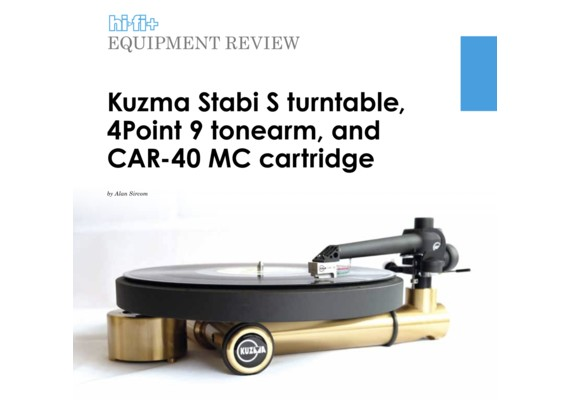 REVIEW KUZMA STABI S+4POINT+CAR40 HIFI+