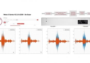 Weiss Audio. Nuevo filtro De-Esser