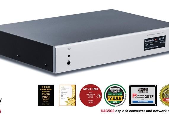 Weiss DAC502 producto del año 2020