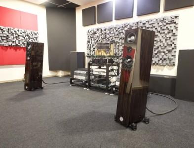 Audio Physic Structure en demostración